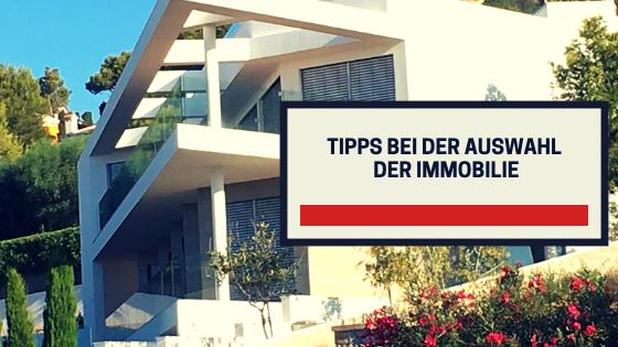 Tipps bei der Auswahl der Immobilie Paul Misar