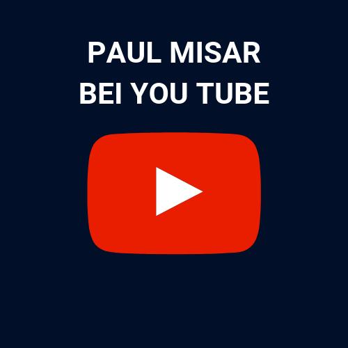 Paul Misar auf YouTube