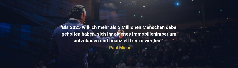 Paul Misar als dein Mentor
