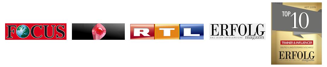 Erfolgsauszeichnungen FOCUS, VOX, RTL, Erfolg Magazin